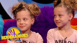 De tweelingtest met Janey & Chayen   Bijdehandjes   SBS6