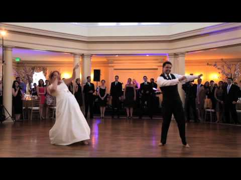 Surprise Punjabi Bhangra Wedding Dance video