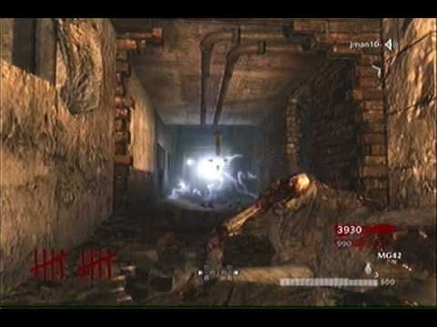 Call of Duty 5 Zombie Glitch - Der Riese
