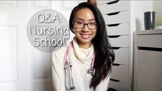 Q&A: Nursing School (First Year Advice/Tips) | shannonleiMUA