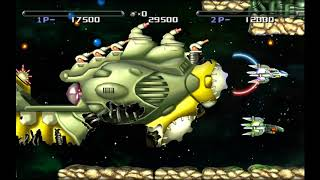 R-Type Dimensions: R-Type 2 player 60fps