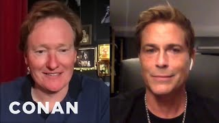 Rob Lowe On His Friendship With Chris Farley - CONAN on TBS