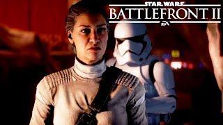 STAR WARS: BATTLEFRONT 2 THE LAST JEDI DLC All Cutscenes (Resurrection) Game Movie XBOX ONE X 1080p