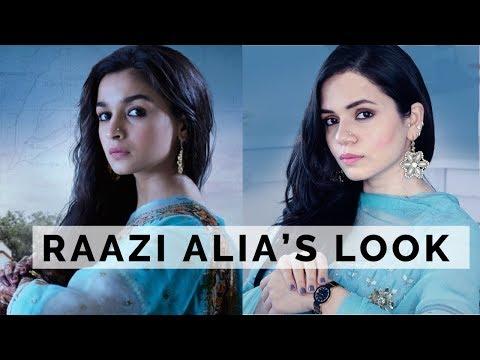 RAAZI MOVIE Alia Bhatt's Inspired Look - Easy Wearable Indian GRWM | Heena Somani thumbnail