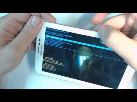 Samsung Galaxy Tab 3 7.0 SM T211 hard reset   Como restablecer datos de fabrica
