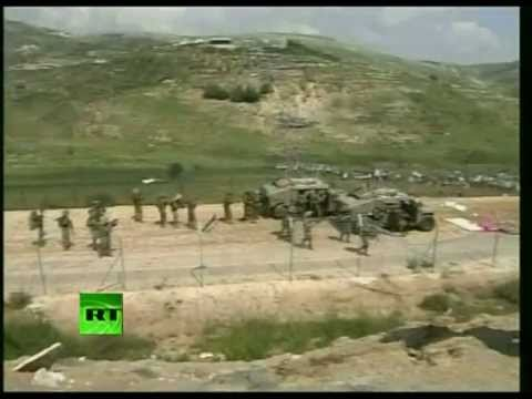 Video of Golan Heights, West Bank clashes as Israeli forces repel protesters