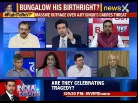 Nation at 9: #RightToBeVIP Ajit Singh's shocking arrogance