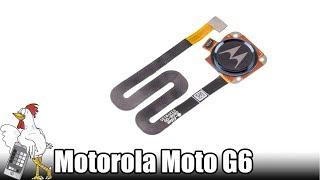 Guía del Motorola Moto G6 Play: Cambiar lector de huellas
