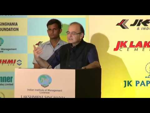 FM Arun Jaitley speaks at National Leadership Awards