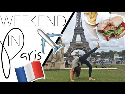 Paris Vlog | Vegan Food & City Sites