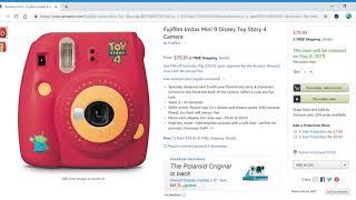 Coming 5/8/19: Fujifilm Instax Mini 9 Disney Toy Story 4 Camera
