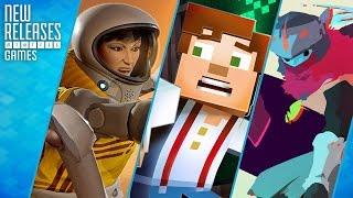 Headlander, Minecraft: Story Mode, Hyper Light Drifter - New Releases