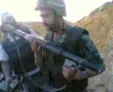 Lebanese Army in Nahr EL Bared