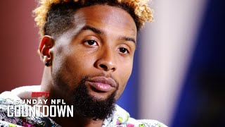 Odell Beckham Jr. explains how his famous one-handed catch changed his life (2015) | ESPN Archive