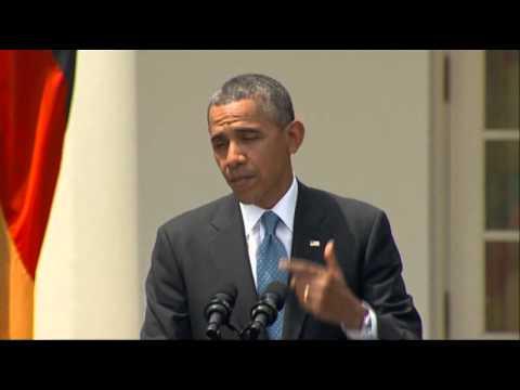 Obama, Merkel Threaten Tougher Russian Sanctions