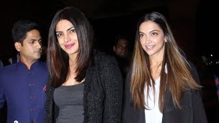Priyanka Chopra & Deepika Padukone Fly To USA For Baywatch & XXX 3 Hollywood Movie
