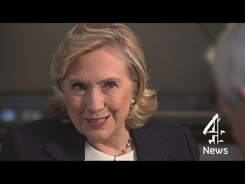 Hillary Clinton interviewed by Jon Snow | Channel 4 News