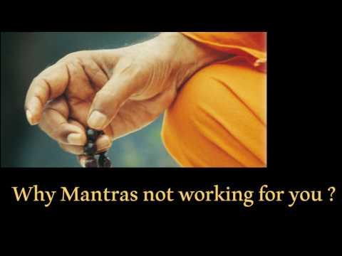 ஏன் மந்திரம் சொல்லியும் பலன் கிடைக்கவிலை ? . காரணங்கள் | Why mantras not working for you ?