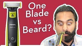 Philips (Norelco) OneBlade shaves off FULL beard? | DHRME #60