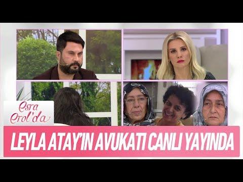 Leyla Atay'ın avukatı canlı yayında - Esra Erol'da 19 Şubat 2018