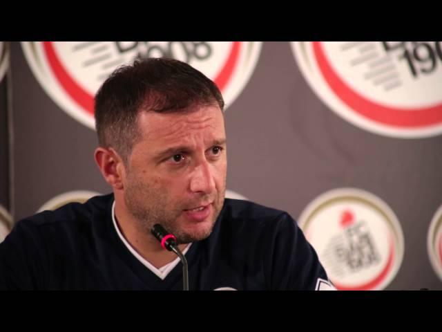 Serie B: Virtus Entella - Bari | Conferenza stampa pre-partita