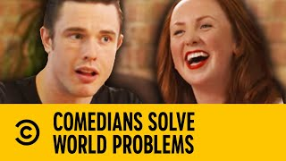 Comedians Solve World Problems - Overpopulation | Comedy Central UK