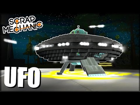 UFO and NIGHT MOD! - Scrap Mechanic Suggested Creations! - Episode 35