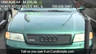 1998 Audi A4 1.8T Quattro - for sale in MELROSE PARK, IL 601