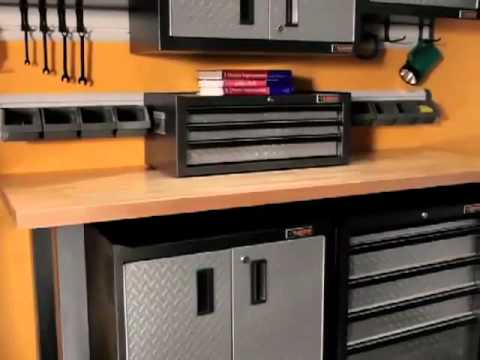 Mobili per garage di casa - Gladiator by Whirlpool - YouTube