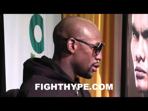 FLOYD MAYWEATHER COMPARES MAIDANAS DIRTY TACTICS IN REMATCH TO FIRST FIGHT