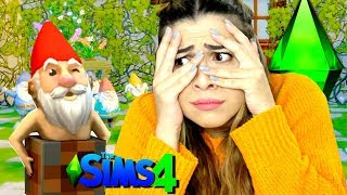 ENCONTREI GNOMOS PELADOS | GAMEPLAY THE SIMS 4 - EP6