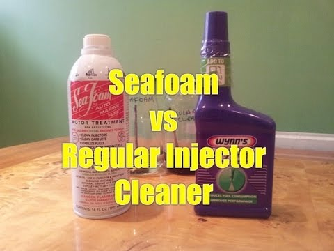 Seafoam Vs Wynns Injector Cleaner Mythbusted Extended