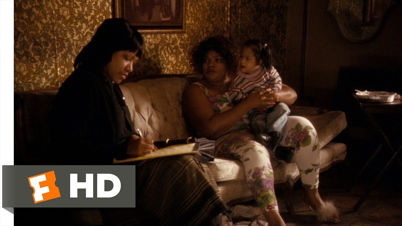 Precious (3/8) Movie CLIP - A Visit From a Social Worker ...