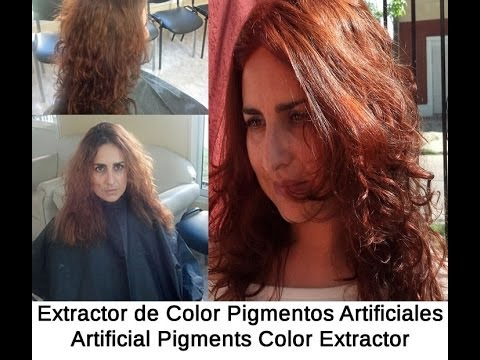 Extractor de Color Pigmentos Artificiales - Artificial Pigments Color Extractor