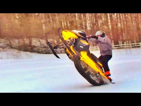 Winter Wheelies!