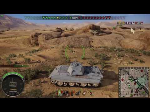 World of Tanks PS4 - E50 Return to Kasserine
