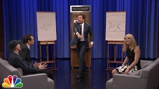 Pictionary with Claire Danes and Ron Howard