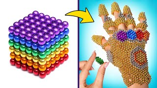Amazing THANOS Infinity Gauntlet Made Out Of Magnetic Beads