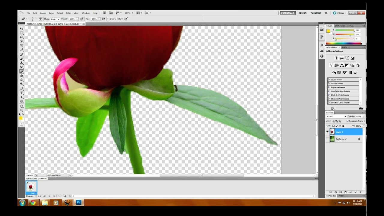 how to convert image to pdf in photoshop