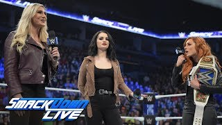 Becky Lynch and Charlotte Flair to clash in TLC Match: SmackDown LIVE, Nov. 27, 2018