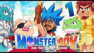 Monster Boy and the Cursed Kingdom mit Etienne & Gregor #01 | Knallhart Durchgenommen