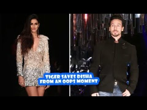 Tiger Shroff Saves Disha Patani From An Oops Moment | Latest Bollywood Movies News 2017