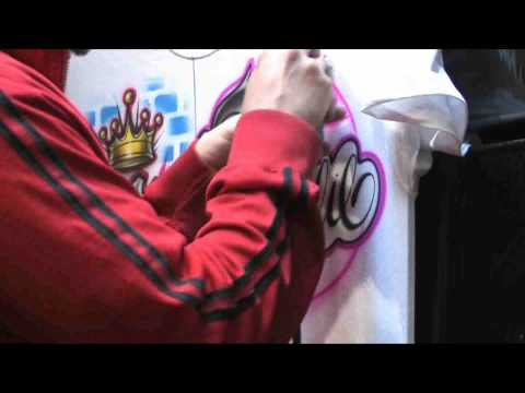 Promo clip of How to airbrush for beginners to advanced artists featuring Jaime Rodriguez