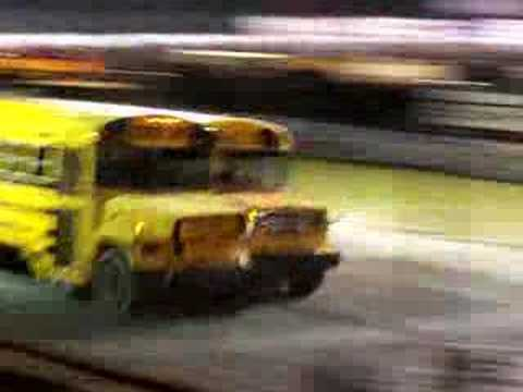 Bus Races - Marne Michigan Video