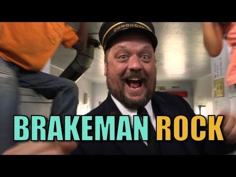 Brakeman Rock - Official Music Video - The Choo Choo Bob Show