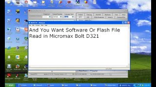 How To Software Or Flash File Reading To Micromax Bolt D321 By Bharat Malviya