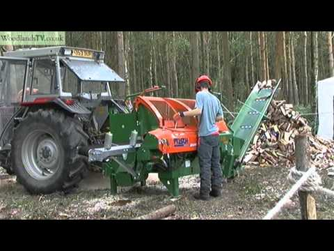 Posch log splitter for firewood