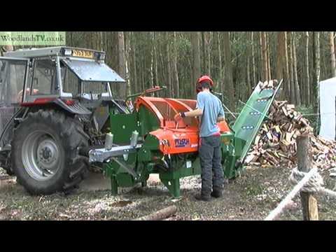 Posch log splitter for firewood