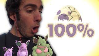 UN ŒUF DE 10 KM À 100% ! - Pokémon GO