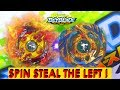 SPIN STEAL THE LEFT! Legend Spriggan Battle vs Drain Fafnir